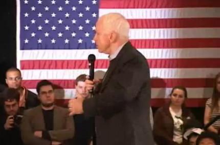 McCain Visits Dartmouth